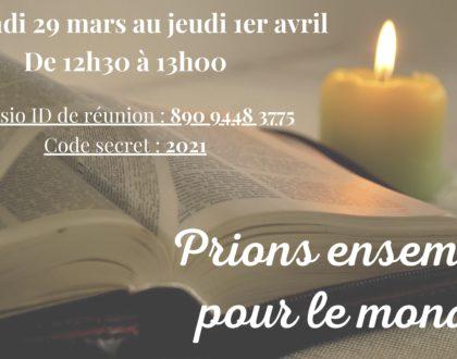 Prions ensemble pour le monde (FPF)