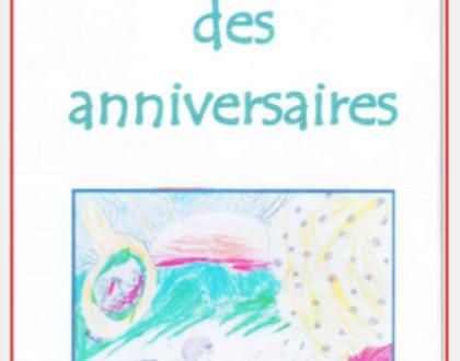 N'oubliez plus les anniversaires ! Le calendrier perpétuel illustré par les enfants